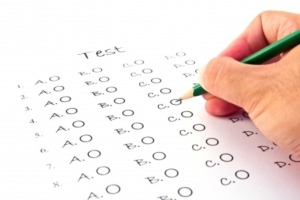 LSAT exam sections