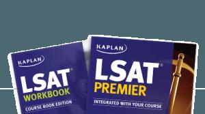 Kaplan LSAT prep books